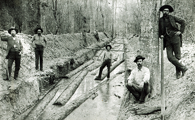 Historic Flume, date and location unknown